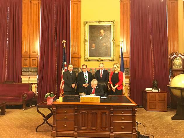 Governor Branstad signed the Iowa Fiduciary Access to Digital Assets Act
